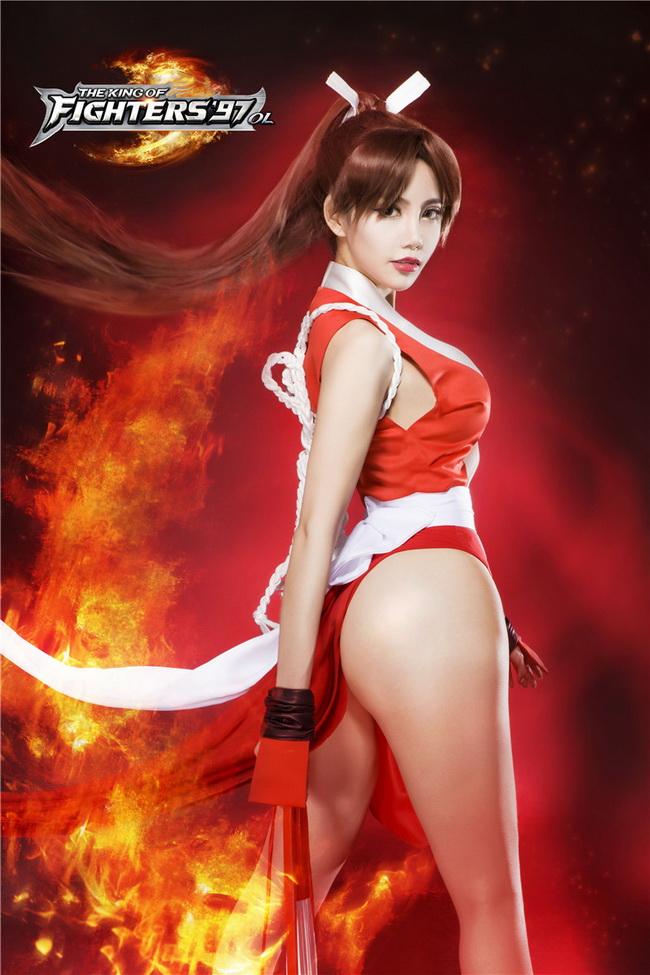 《拳皇97ol》掀起不知火舞红色风暴图片